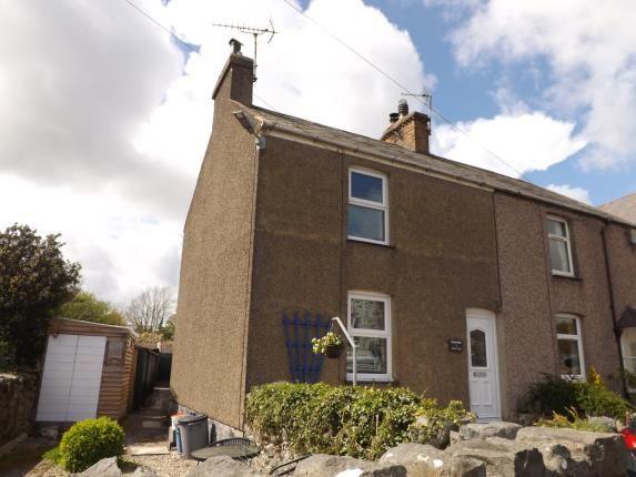 Thumbnail Semi-detached house for sale in Afonwen Terrace, Chwilog, Pwllheli, Gwynedd