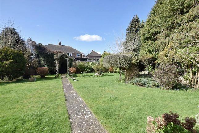 Rear Garden of Fitzwygram Crescent, Havant, Hampshire PO9