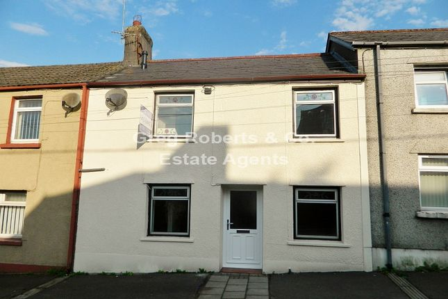 Thumbnail Terraced house to rent in Beaufort Road, Tredegar, Blaenau Gwent.