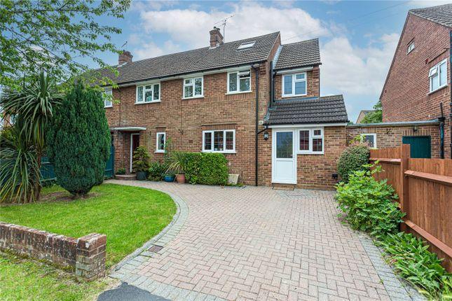 Semi-detached house for sale in Lyndhurst Drive, Harpenden, Hertfordshire