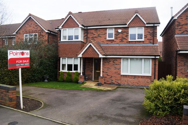 Thumbnail Detached house for sale in Grove Fields, Weddington Road, Nuneaton