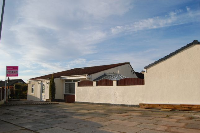 Thumbnail Detached bungalow to rent in Redcar Road, Little Lever, Bolton