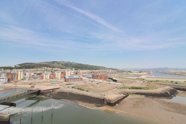 Thumbnail Flat to rent in Aurora, Swansea