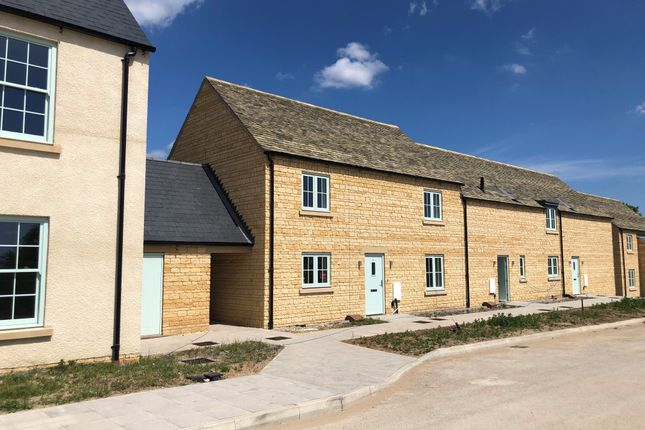 Thumbnail Terraced house for sale in 3 Windrush Heights, Little Windrush, Burford, Gloucestershire