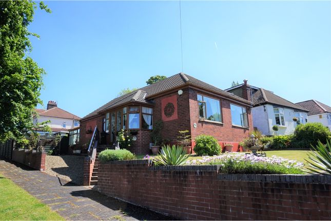 Thumbnail Detached bungalow for sale in Mossway, Manchester