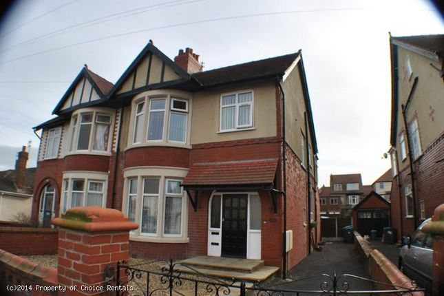 Thumbnail Flat to rent in Leyburn Ave, Blackpool
