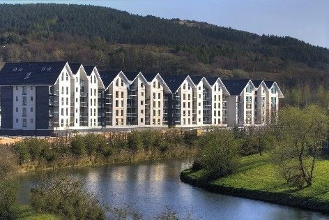 Thumbnail Flat to rent in Britannia Apartments, Pentrechwyth, Swansea