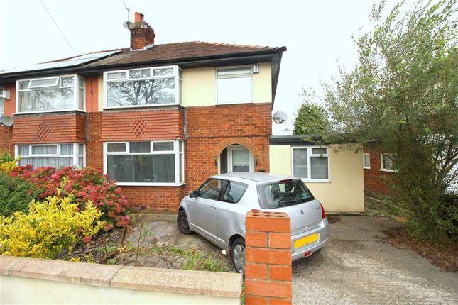 Thumbnail Semi-detached house for sale in Watling Street Road, Ribbleton, Preston