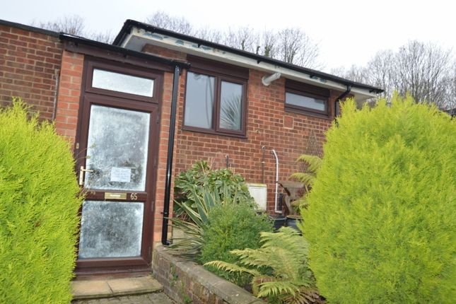 Thumbnail Terraced bungalow to rent in Chelsworth Drive, London