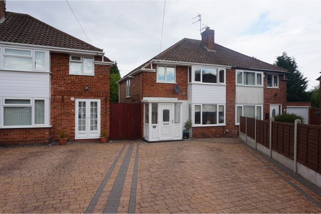 Thumbnail Semi-detached house for sale in Quinton Close, Solihull