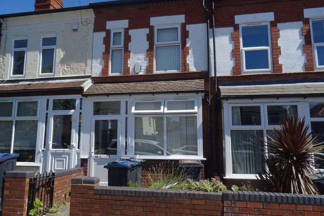 Thumbnail Shared accommodation to rent in Westminster Road, Selly Oak, Birmingham
