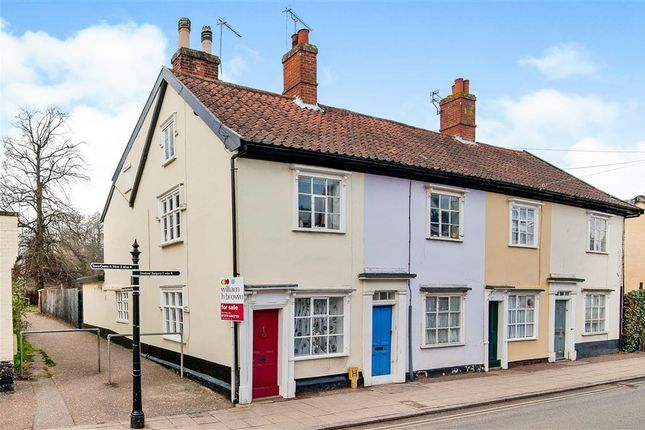 Thumbnail End terrace house to rent in Mount Street, Diss