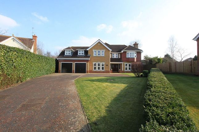 Thumbnail Detached house for sale in Belfry Lane, Collingtree Park, Northampton, Northamptonshire