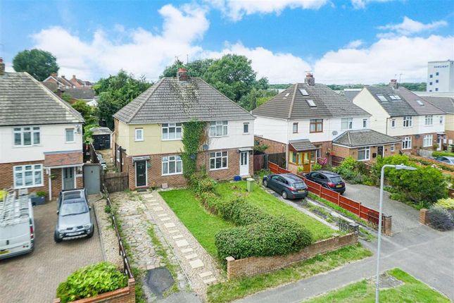 Thumbnail Semi-detached house for sale in Simpson Road, Fenny Stratford, Milton Keynes