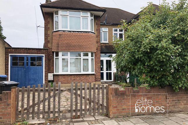 Thumbnail Semi-detached house to rent in Bullsmoor Lane, Enfield