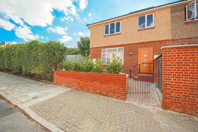 Thumbnail End terrace house for sale in St. Gothard Road, London