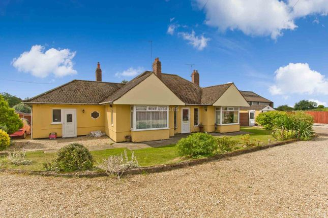 Thumbnail Detached bungalow for sale in Bungalow & Commercial Workshops, 2 Tuns Road, Necton