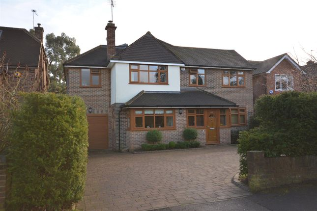 Thumbnail Detached house to rent in Newberries Avenue, Radlett