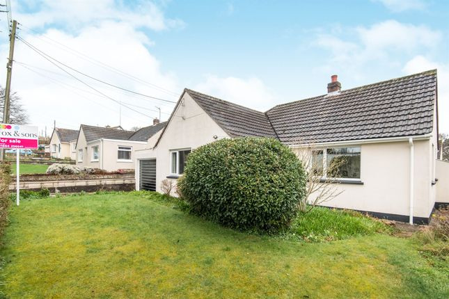 Thumbnail Detached bungalow for sale in Southfield Way, Tiverton