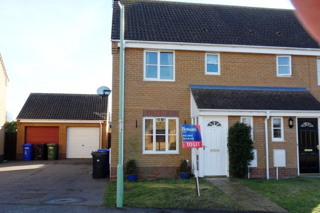 Thumbnail Property to rent in Johnson Way, Lowestoft