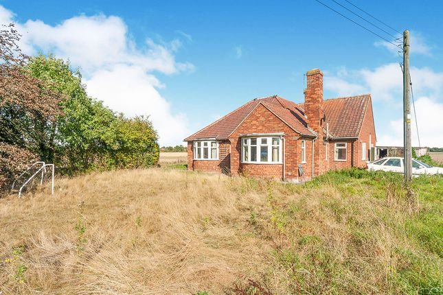 Thumbnail Bungalow for sale in Haggs Lane, Willerby, Hull