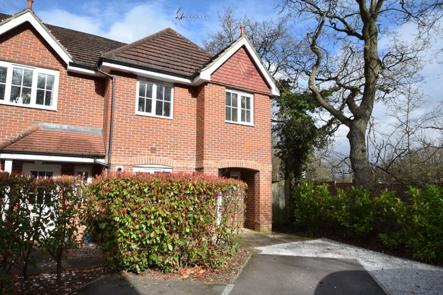 Thumbnail End terrace house for sale in Kings Glade, Yateley