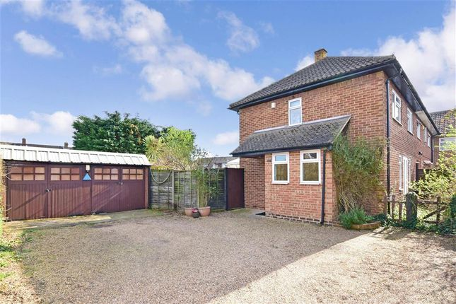 Thumbnail End terrace house for sale in Norman Road, Snodland, Kent