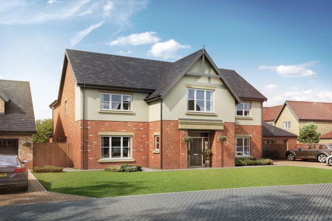 Thumbnail Detached house for sale in Medburn Park, Medburn Village, Ponteland, Newcastle Upon Tyne