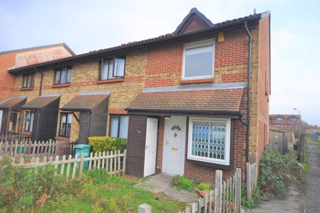 Thumbnail End terrace house to rent in Church Road, Mitcham
