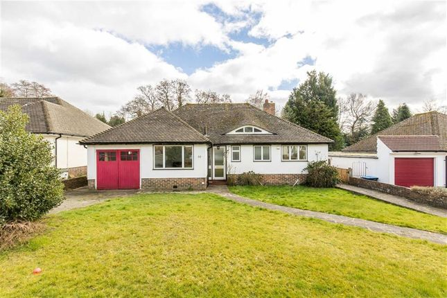 Thumbnail Bungalow for sale in Paddock Way, Oxted, Surrey