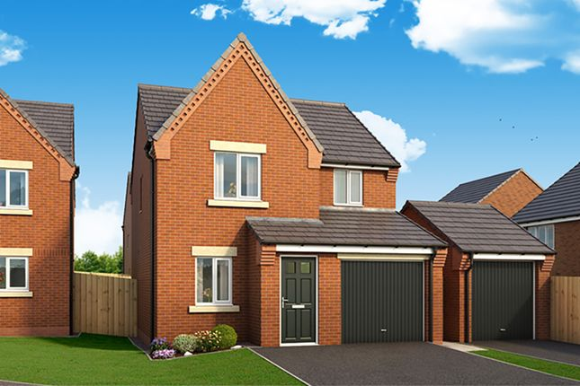 "Thumbnail Detached house for sale in ""The Staveley"" at Harwood Lane, Great Harwood, Blackburn"