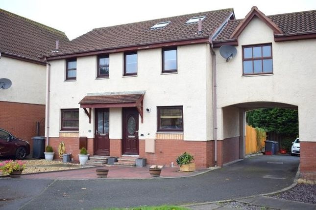 Thumbnail End terrace house to rent in Speedwell Avenue, Danderhall, Dalkeith