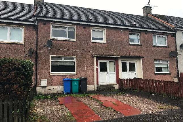 Thumbnail Terraced house to rent in Inverkip Drive, Shotts, North Lanarkshire