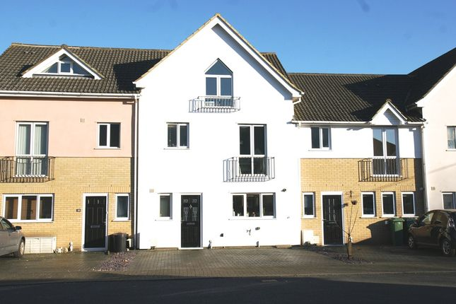 Thumbnail Terraced house for sale in Pursey Close, West Kingsdown