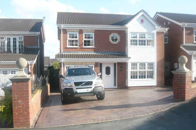 Thumbnail Semi-detached house to rent in Stanley Drive, Newcastle-Under-Lyme