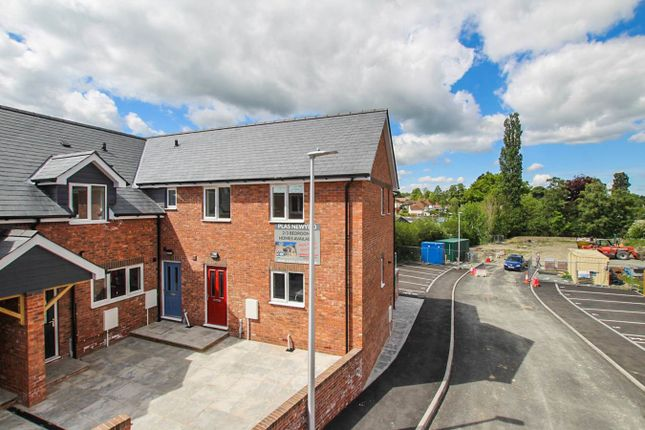 Thumbnail End terrace house for sale in Brecon Road, Builth Wells
