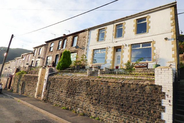 Thumbnail End terrace house for sale in Mount Pleasant, Blaengarw, Bridgend