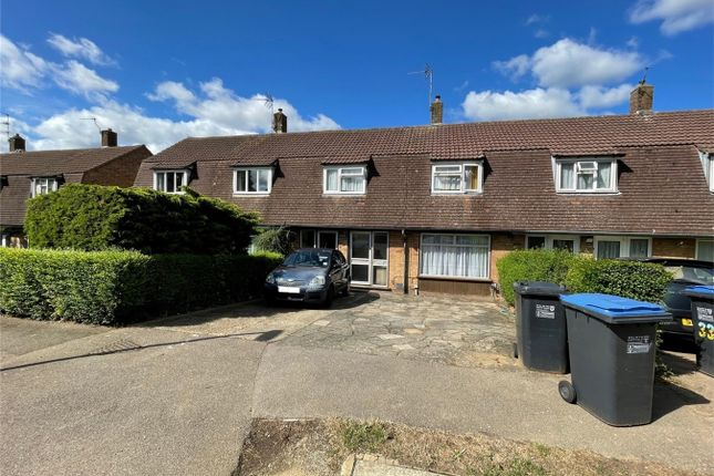 Thumbnail Terraced house for sale in Blackthorne Close, Hatfield, Hertfordshire