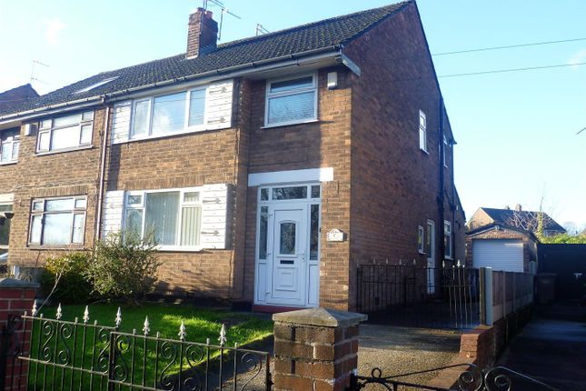 Thumbnail Semi-detached house to rent in Wellington Road, Eccles, Manchester