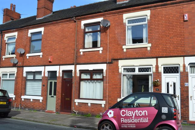 Thumbnail Terraced house to rent in Masterson Street, Fenton, Stoke-On-Trent