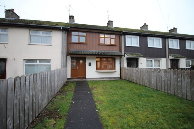 Thumbnail Terraced house to rent in Curtis Walk, Lisburn