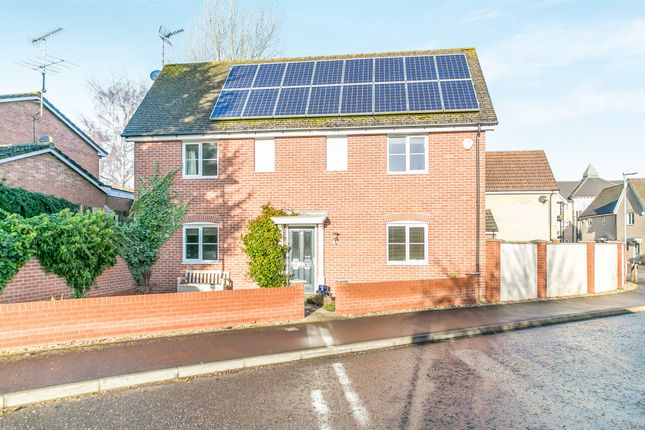 Thumbnail Detached house for sale in Summerfields, Sible Hedingham, Halstead