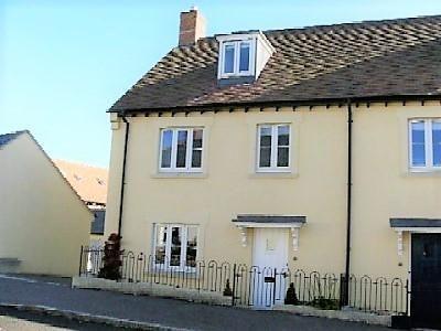 Thumbnail Semi-detached house for sale in Bede Street, Sherborne, Dorset