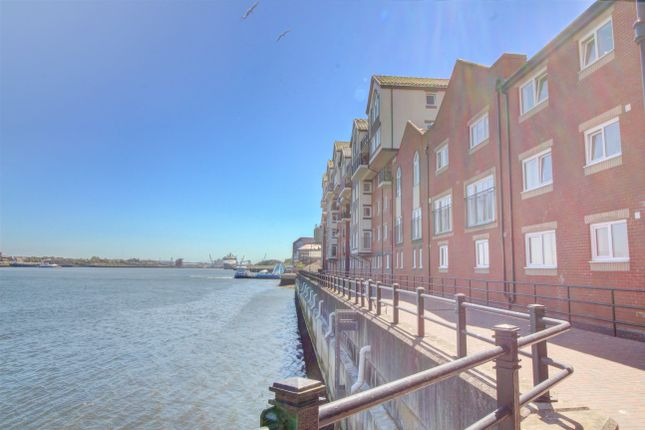 Thumbnail Flat for sale in Dolphin Quays, Clive Street, North Shields