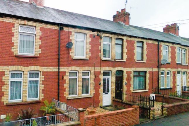 Thumbnail Terraced house for sale in St. Brides Road, Aberkenfig, Bridgend