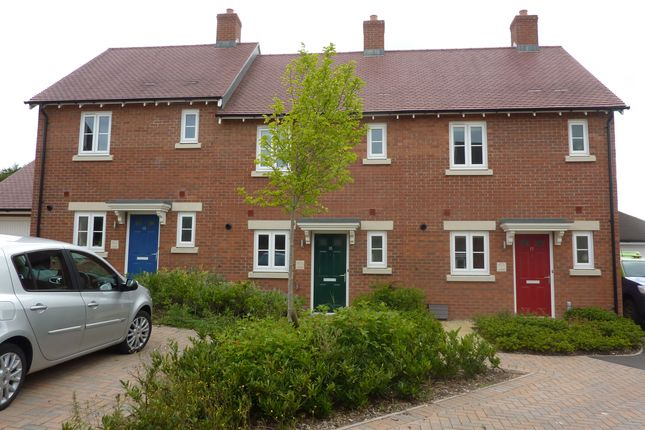 Thumbnail Terraced house to rent in Mile Close, Andover