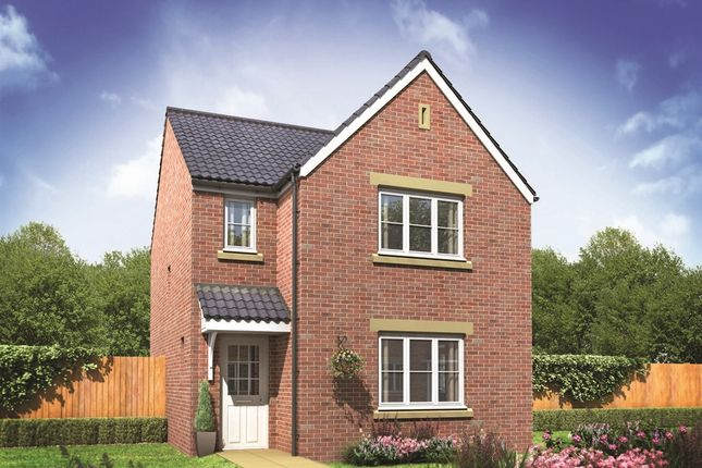 "Thumbnail Detached house for sale in ""The Hatfield "" at Hemlington Village Road, Hemlington, Middlesbrough"