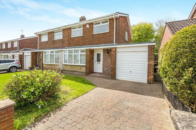 Thumbnail Semi-detached house for sale in Ladywell Road, Consett