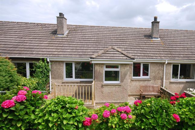 Terraced bungalow for sale in Churchfield Close, Ludgvan, Penzance