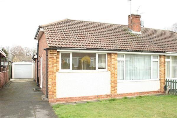 Thumbnail Semi-detached bungalow to rent in Clouston Road, Farnborough